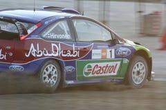 Mikko Hirvonen Rennen Stockbilder