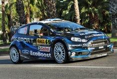 Mikko Hirvonen - WRC - 10 Στοκ Εικόνα