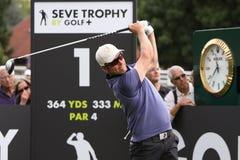Mikko Ilonen bij de Seve-Trofee 2013 Stock Foto's