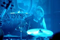 Mikko Sirén da Apocalyptica Fotografia Stock