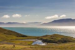 Miklavatn fjord - Iceland Royalty Free Stock Photography