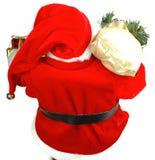 Mikołaj przybędzie zdjęcia stock