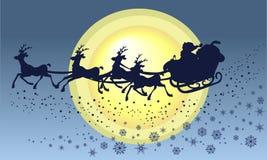 Mikołaj jest sanie Zdjęcie Royalty Free