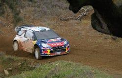 Miko Hirvonen Citroen DS3 WRC Royalty Free Stock Image