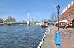 Mikolajki Masuria, Polen Royaltyfri Fotografi