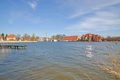 Mikolajki, Masuria, Polonia Imagen de archivo libre de regalías
