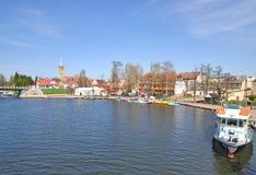 Mikolajki, Masuria, Polonia Imagenes de archivo