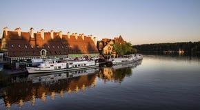 Mikolajki (MikoÅajki), Polen lizenzfreie stockfotografie