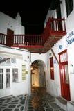 Mikonos alley Royalty Free Stock Photo