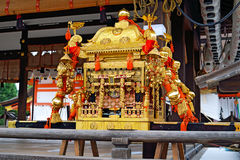 Mikoshi, Yasaka Jinja, Kyoto, Japón Fotografía de archivo