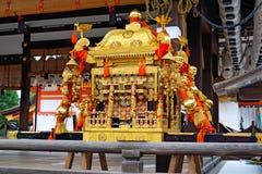 Mikoshi, Yasaka Jinja, Kyoto, Japon Photographie stock