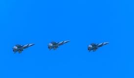 3 Mikoyan-Gurevich MiG-31 (foxhound) Fotografie Stock