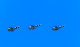 3 Mikoyan-Gurevich MiG-31 (foxhoundet) Arkivfoton