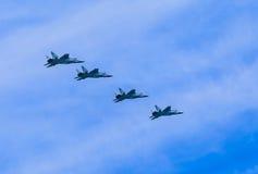 4 Mikoyan-Gurevich MiG-31 (foxhoundet) Fotografering för Bildbyråer