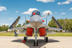 Mikoyan-Gurevich MiG-29K (Mig-35) Royalty Free Stock Photo