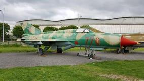 Mikoyan Gurevich MiG21 PFM 库存图片
