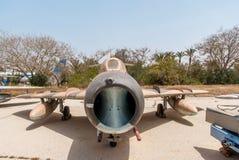 Mikoyan-Gurevich MiG-15 - strålkämpeflygplan Arkivfoton