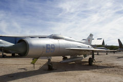 Mikoyan-Gurevick MiG-21PF Fishbed-D Stock Photography