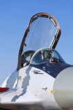 Mikoyan MIG-29 fighter cockpit. Royalty Free Stock Image