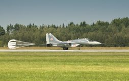 The Mikoyan MiG-29 Fulcrum Stock Image