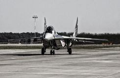 The Mikoyan MiG-29 Fulcrum Royalty Free Stock Images