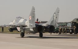The Mikoyan MiG-29 Fulcrum Royalty Free Stock Photos