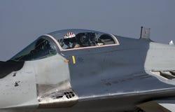 The Mikoyan MiG-29 Royalty Free Stock Photo