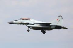 Mikoyan mig-29K 941 WIT van Russische marine die testvlucht uitvoeren royalty-vrije stock afbeelding