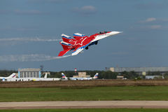 Mikoyan MiG-29 OVT Stock Image