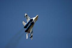 Mikoyan MiG-29 przy RAF powietrza tatuażem Obraz Stock