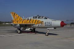 Mikoyanen-Gurevich MiG-21 Fotografering för Bildbyråer