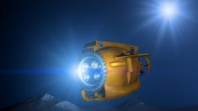mikro łódź podwodna Obrazy Stock