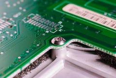 Mikro elektronika główna deska obrazy stock