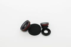 Mikro kamera obiektyw Zdjęcia Royalty Free