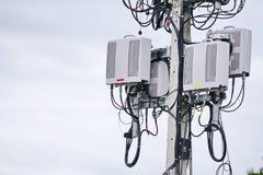 Mikro komórka 3G, 4G, 5G fotografia stock