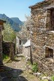 Mikro Papingo i norden av Grekland fotografering för bildbyråer