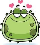 Mikroben-Mikroben-Liebe lizenzfreie abbildung