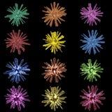 Mikroben-Sammlung Stockfotos