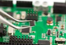 Mikrochip Stockfotografie
