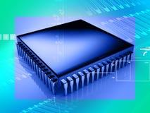 Mikrochip Lizenzfreie Stockfotos