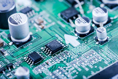 mikrochip Lizenzfreie Stockbilder