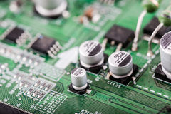 mikrochip Stockfoto