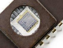 mikrochip, Zdjęcia Stock