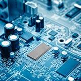 Mikrochips royaltyfria bilder