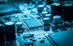 Mikrochips arkivfoto