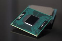 Mikrochips för centralenhetCPU-processorer Royaltyfri Foto