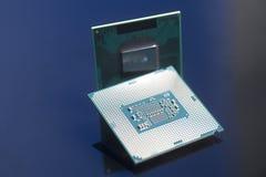 Mikrochips för centralenhetCPU-processorer Arkivbilder
