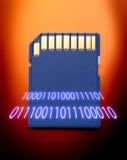 Mikrocodierte Karte für Kamera Lizenzfreies Stockbild