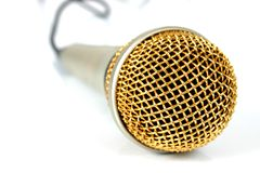 mikrofon 2 Fotografering för Bildbyråer