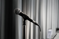 mikrofon Zdjęcie Royalty Free